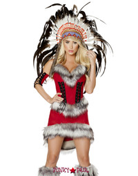 R-4705, Native American Babe