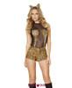 R-4512, Seductive Jungle Cat Costume