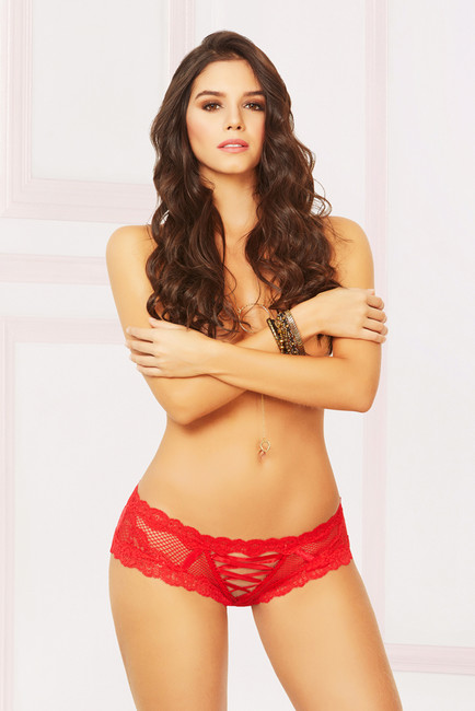 STM-10900, Lace and Net Panty
