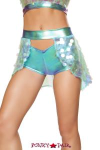 R-3599, Open Sequin Skirt