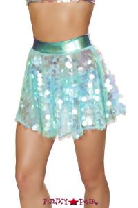 R-3600, Flare Sequin Skirt