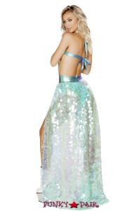 R-3568, Open Front Sequin Skirt