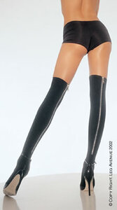 8250BZ, Back Zipper Stockings