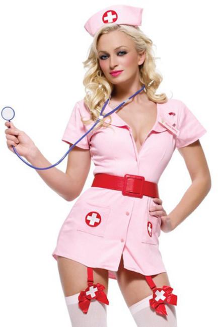 Sexy Naughty Nurse Costume (83246)