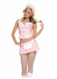 83236,Vinyl Frenchie Maid Costume