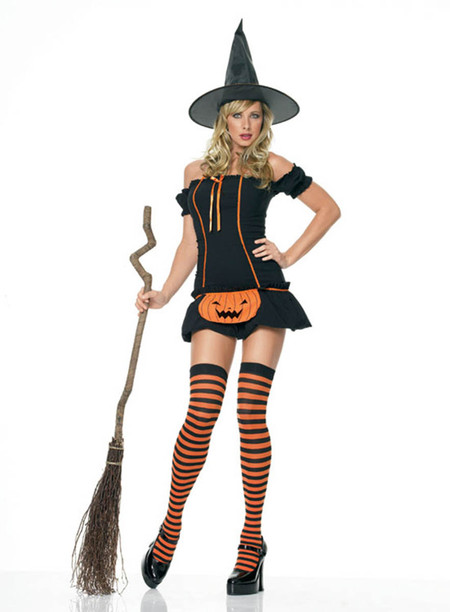 Pumpkin Witch Costume (83140)