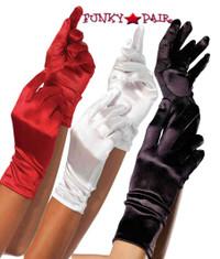 2B, Satin Wrist Length Gloves
