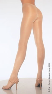 0992Q, Plus size Opaque Sheer to Waist Tights