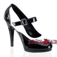 FLAIR-486, Platform Mary Jane Pump Made By PLEASER Shoes