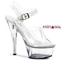 KISS-208DAS, 6 Inch Sexy Sandal with Interchangeable Ankle Strap