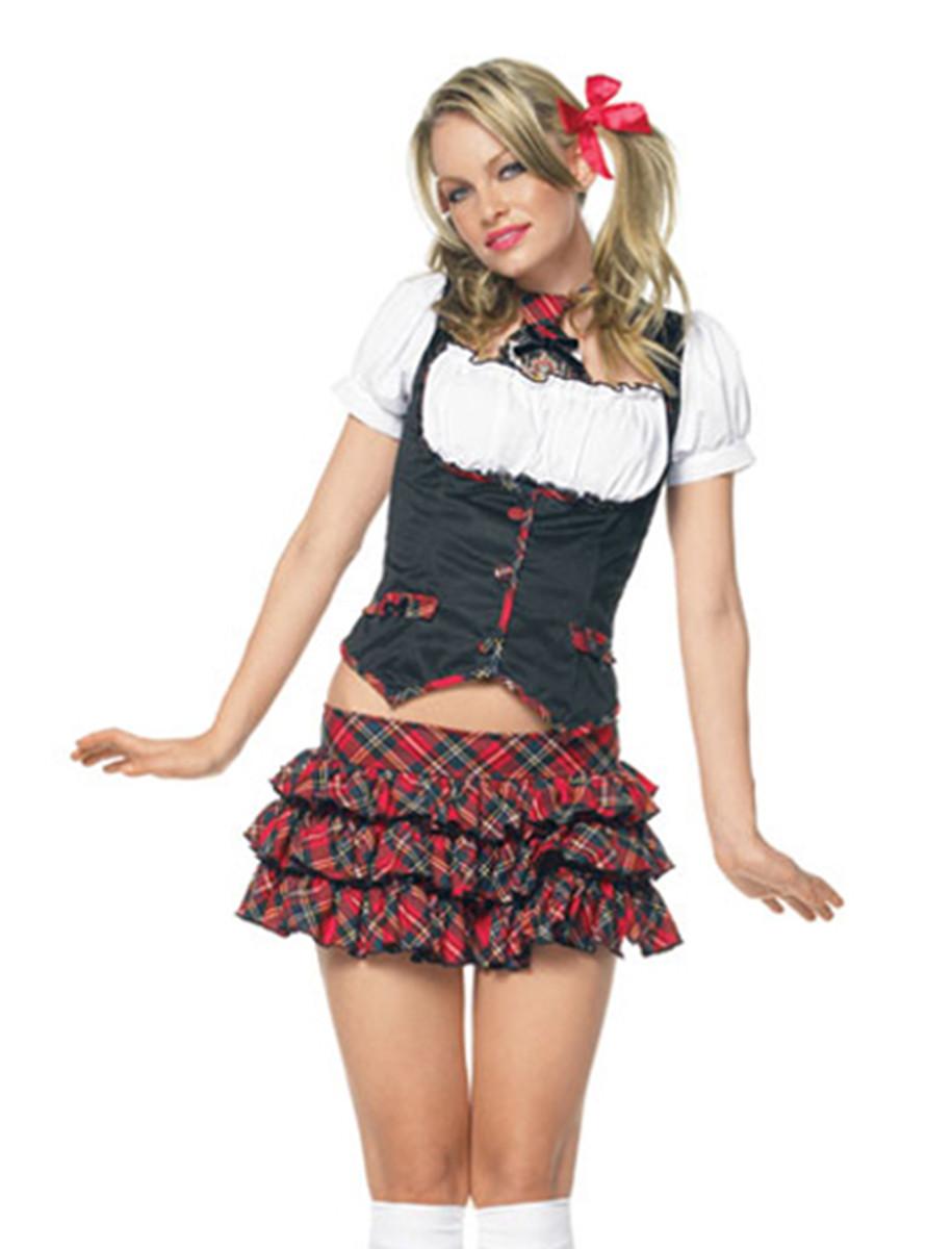 Little Miss Naughty School Girl Costume - Funkypair-4356