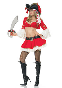 Sexy Captain Booty Costume (53025)