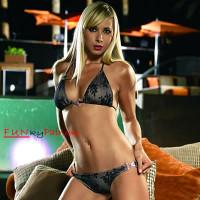 Rhinestones Charm Bikini Set *62002