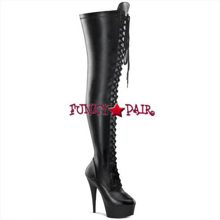 delight 3023 6 inch high heel with 1 75 inch platform