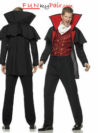 Prince Of Darkness Costume Men's Vampire Costume