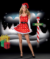 Holiday Pin-up Costume CLEARANCE SALES ARE FINAL