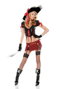 557206 * Sultry Swashbuckler Costume