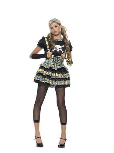 Punk Rock Princess Costume