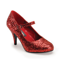 GLINDA-50G, Glitters Mary Jane Shoe Made By FUNTASMA