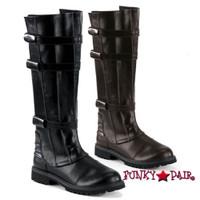 WALKER-130, Men Strappy Knee Boot
