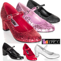 Glitters School Girl Shoes