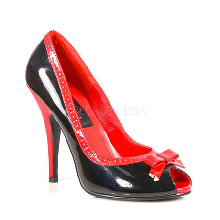 Seduce-218, 5 Inch Two-Tone High Heels Pump