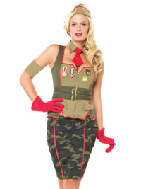 Miltary Pin Up Girl