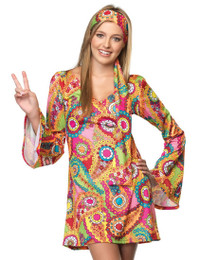 Hippie Chick Costume