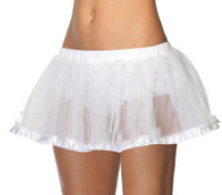 A1700, Petticoat with Pleated Satin Trim