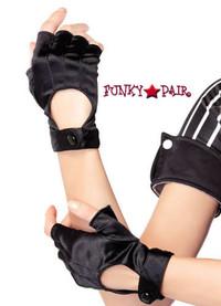 A1039, Satin Fingerless Glove