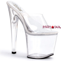 SOL-751-D,  7.5 inch high heel with 3.5 inch platform