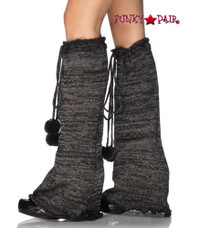 3914, Lurex Bell Bottom Leg Warmers