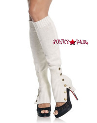 3901, Leg Warmers with Button Side