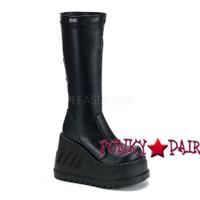 Stomp-300, Cyber Gogo Women gothic boots Mady By Demonia