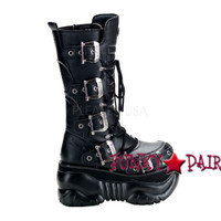 Cyber Boot with Buckles Design (Boxer-205)
