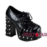 Goth Punk with Corset Lolita Oxford Made by Demonia