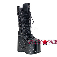 Stack-318, Goth Punk Demonia Gothic  Boots