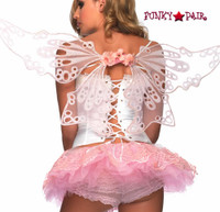 Glitter Eyelet Fairy Wings