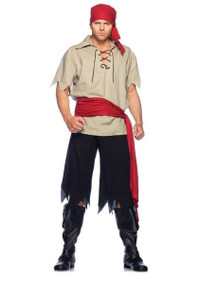 Cutthroat Men Pirate Costume (83648)