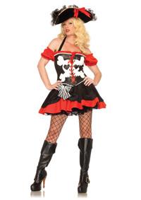 Treasure Island Temptress Costume