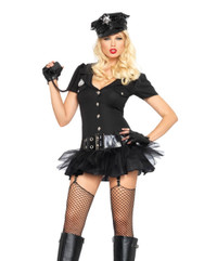 Officer Bombshell Costume (83619)