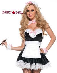 T0061,Bonjour Maid Costume