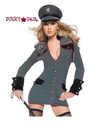 T0054, General Perversion costume includes a dress with medals and hat
