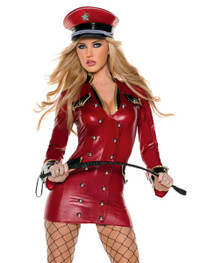 M0036, Red Army Girl costume includes a dress and hat