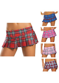 School girl plaid skirt