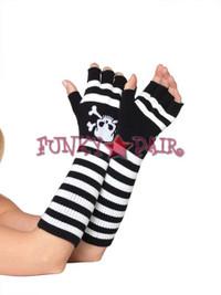 2066, Elbow Length Fingerless Gloves