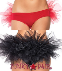 Tanga Panty with Tulle Ruffle Back (2922)