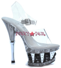629-BROOK, 6 Inch High Heel with 1.75 Inch Platform Shoes Made by ELLIE Shoes