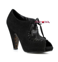 BP302-ODAY, 3 Inch High Heel Peep Toe Booties