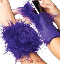 Fur Wrist Cuff Wallet * A2007